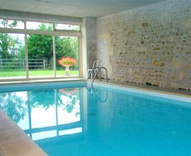 Location gites ruraux et roulotte de charme charente maritime for Villa charente maritime avec piscine